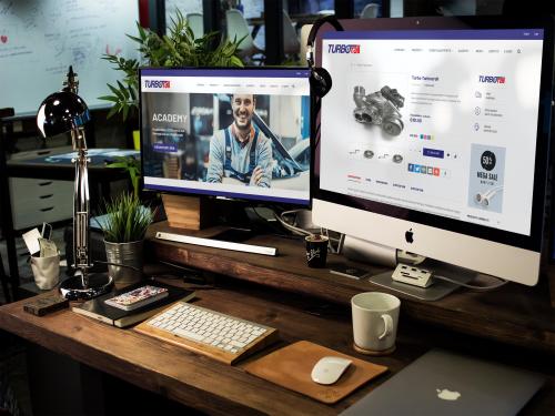 Turborail - Grafica E-Commerce